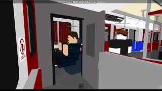 Roblox TTC T1 Train Ride Line 4 DM to SY 5111