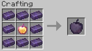 Minecraft UHC but you can craft any item from netherite...