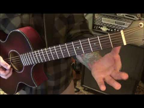 Miranda Lambert - Tin Man - CVT Guitar Lesson by Mike Gross