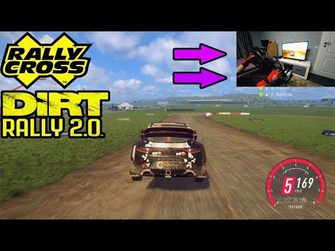 Renault Megane RS Rallycross ENGLAND - Dirt Rally 2.0 - Thrustmaster TMX