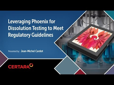 Leveraging Phoenix for Dissolution Testing to Meet Regulatory Guidelines