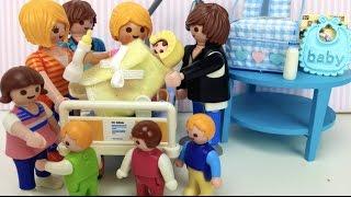 Playmobil en español carol tiene al bebÉ #49 los playmobil viven aquí