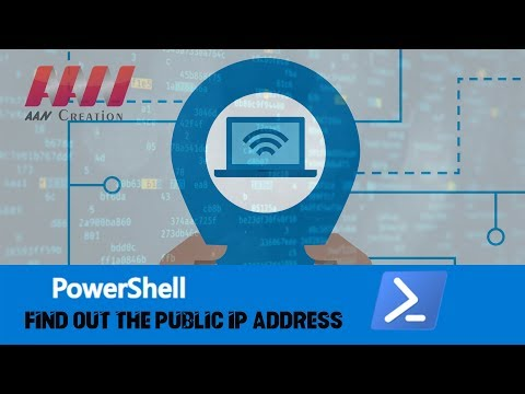 How to Find Out the Public IP Address of Your Network Using PowerShell on Windows 10