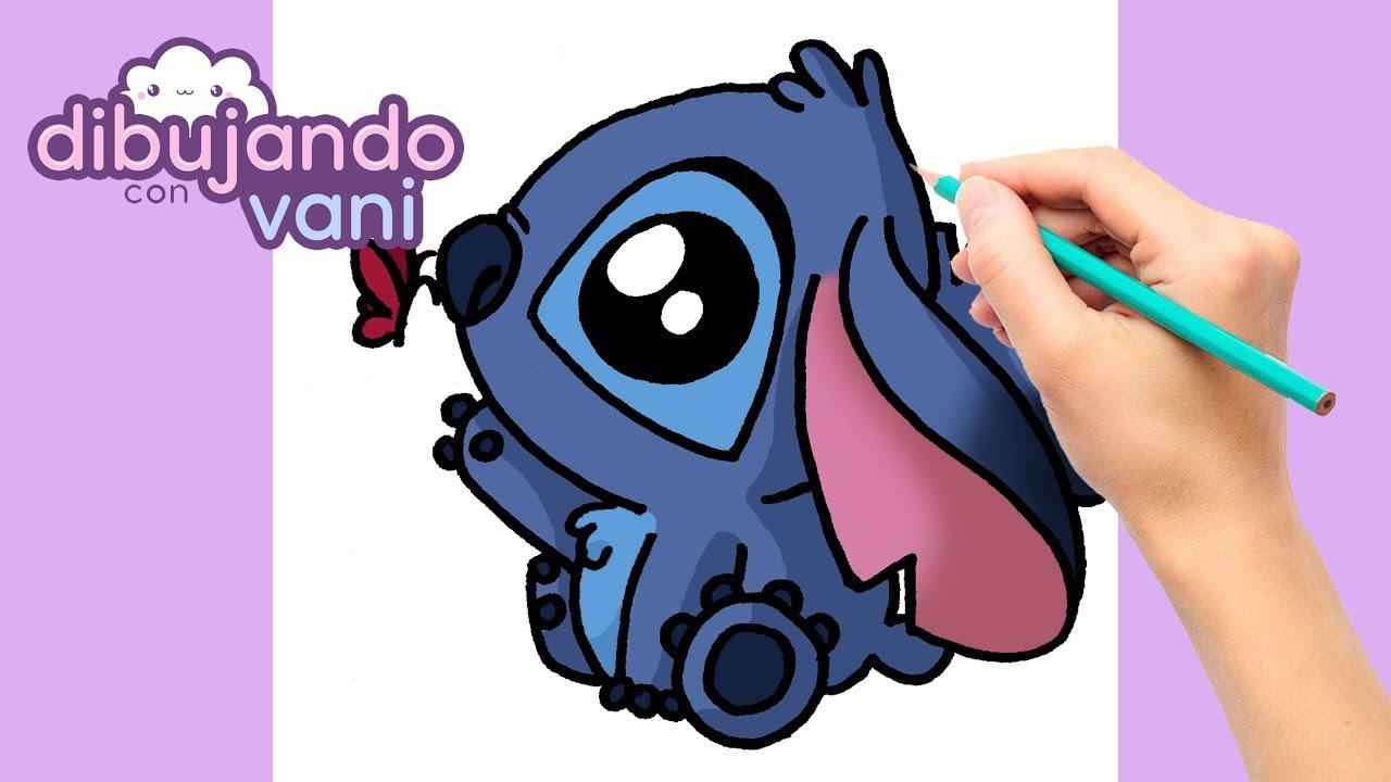 Como Dibujar A Stitch Paso A Paso Imagenes Para Dibujar