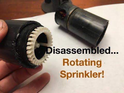 Rotating Sprinkler Disassembly