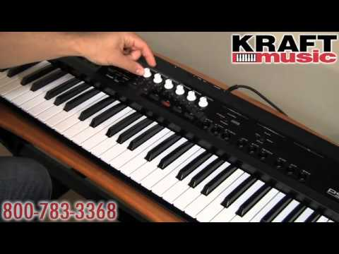 Kraft Music - Korg PS60 Synthesizer Demo with Rich Formidoni