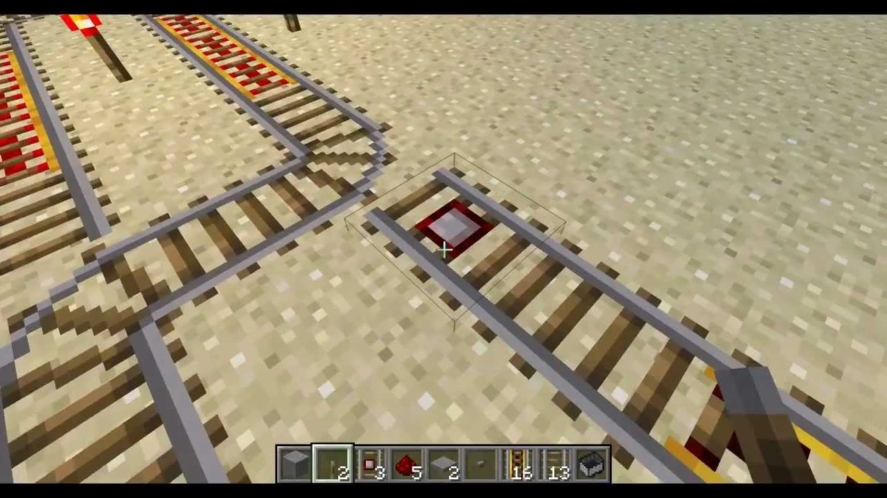 minecraft making rail switches to switch tracks minecraft making rail switches to switch tracks