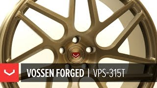 Vossen Forged | VPS-315T Wheel | Patina Gold