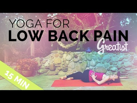 yoga for lower back pain  greatist yoga  15 min