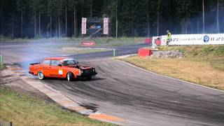 Mikael Johansson - Volvo 240  / Day At The Track -  #62 bruze 2014