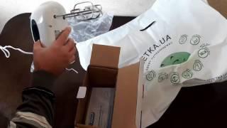 Распаковка миксера VITEK VT-1403 W, купленного в интернет-супермаркете Rozetka.ua