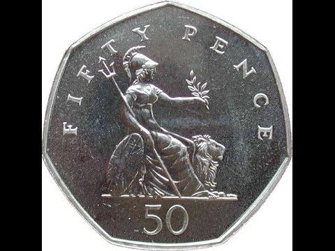VERY RARE 50p COIN (WORTH £100!)