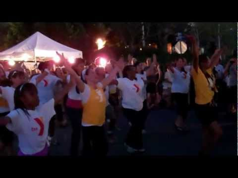 ZUMBA FLASH MOB YMCA OF THE EAST VALLEY