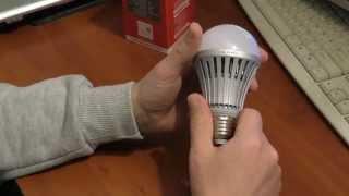 Светодиодные лампы LED(Светодиодные лампы LED 7 и 10 ватт. Стоит ли покупать лед лампы? Какие лед лампы лучше купить?, 2014-12-02T01:04:16.000Z)