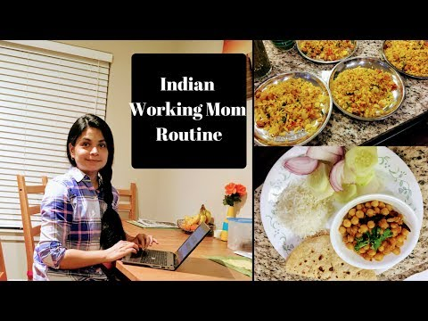 Indian Working Mom Routine  ( HINDI) l Time Management for Working Moms ( English Sub Added)