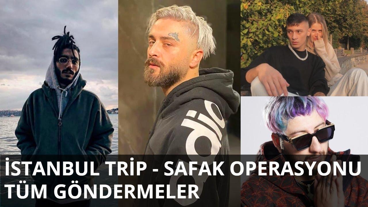 İstanbul Trip - Şafak Operasyonu | Tüm Göndermeler