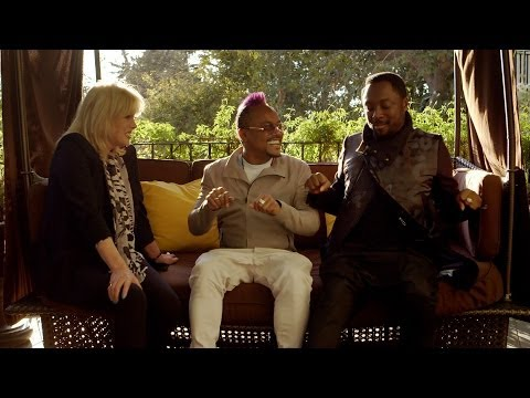 Will.i.am introduces Joanna Lumley to his childhood friend - Joanna Lumley Meets will.i.am - BBC One