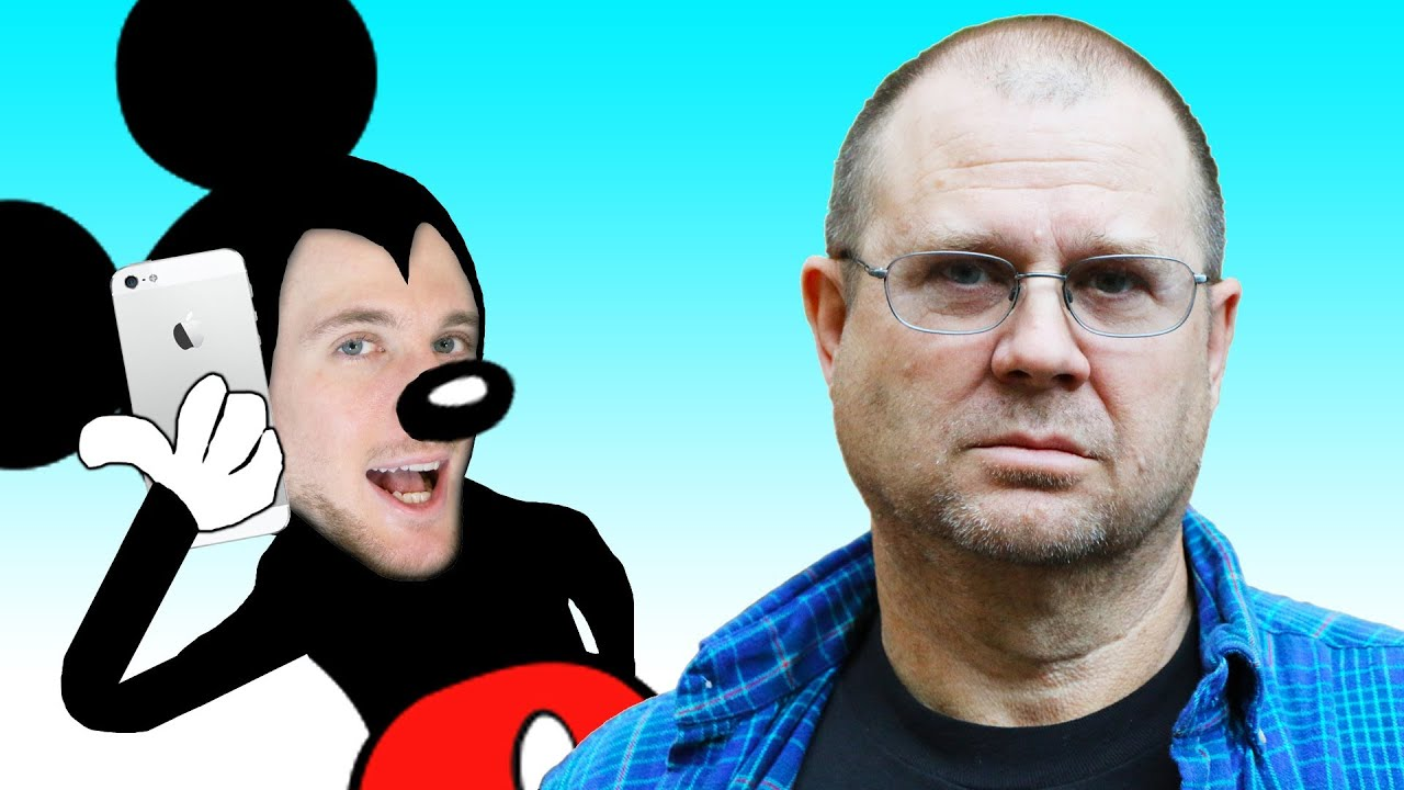 Angry Dad Broken Dishes.Mickey Prank Calls Angry Dad