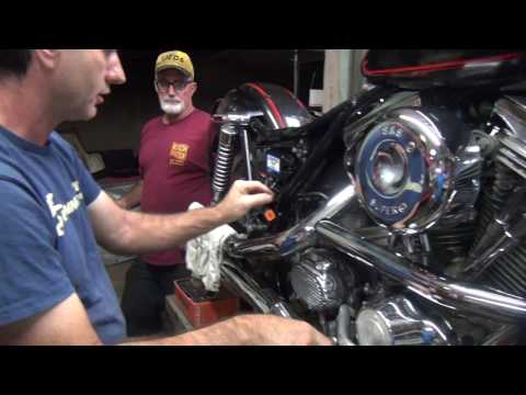 1989 fxr #103 ignition swap-out repair harley dyna 2000i by tatro machine