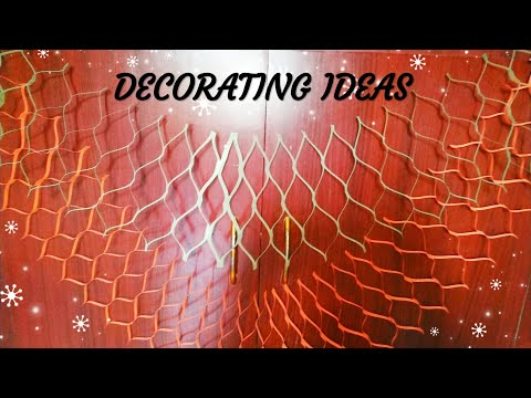 mesh paper streamers | DIY paper decoration from A4 size paper | Decoration ideas | sweety trendzzz