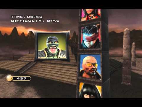 Mortal Kombat Armageddon - Reptile Arcade Ladder