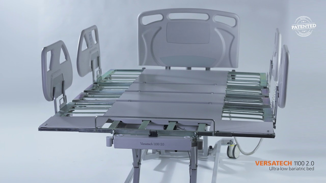 Our bariatric bed VersaTech 1100 2.0