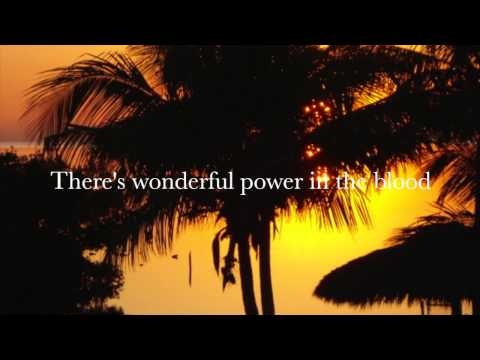 There's power in the blood (with lyrics) - Selah - Easter Song