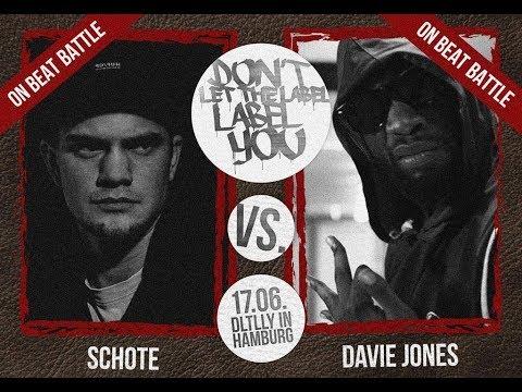 DLTLLY // On Beat Battles // Davie Jones VS Schote