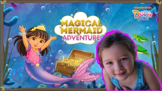 Dora and Friends Magical Mermaid Adventure ! Full Episodes Cartoon Game Movie New Dora