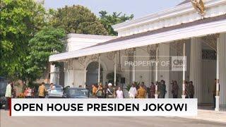 Lebaran Jokowi, Presiden Gelar Open House di Yogyakarta
