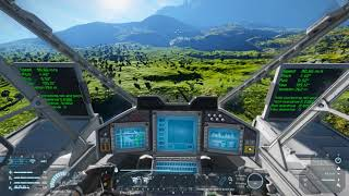 Space Engineers - Avionic information display and ship stabilization (also library for modders)