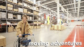 shopping for my new apartment | getting an apartment in LA part 2