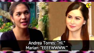 Marian Rivera Allegedly 'Snubs' Andrea Torres In Sunday Pinasaya