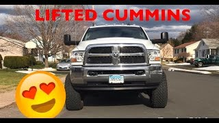 CUMMINS BUILD - LIFTED AND WIDE!