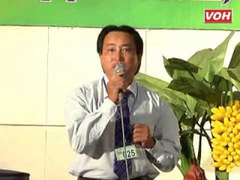 VOH Media   Thí sinh  Nguyễn Văn Mẫn SBD  025 Nam xuân 8 câu   Chiều sông Lô câu 1, 2 Sáng tác  Ngô Hồng Khanh   27 10 2012