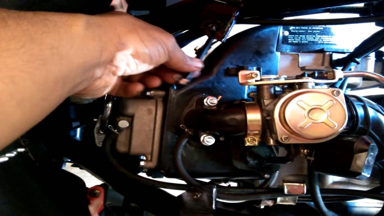 50cc Scooter Carburetor Problems
