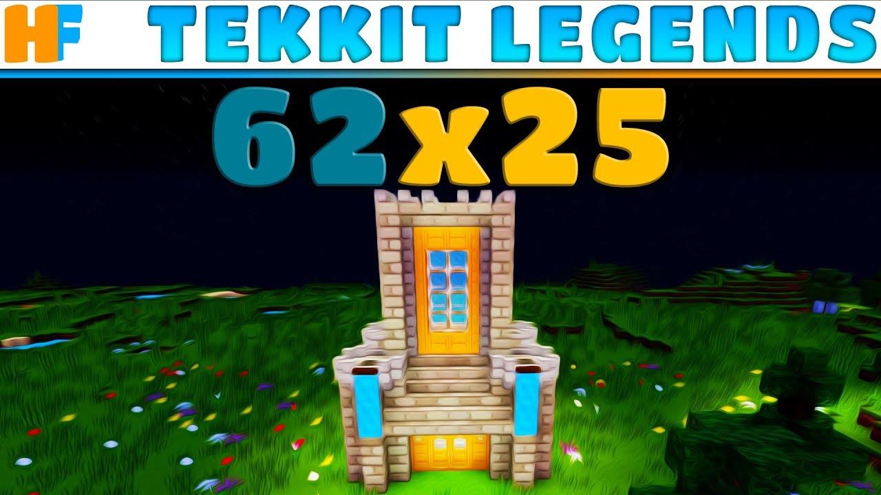 The Wizards' Tower | Tekkit Legends 62x25