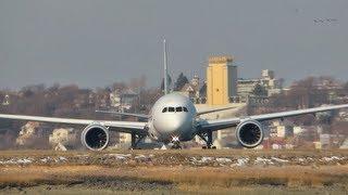 JAL 787-8 Sweet Takeoff!