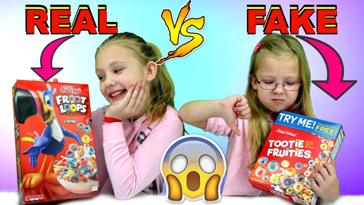 Real Brand vs Dollar Store Brand Food Challenge!!! - YouTube