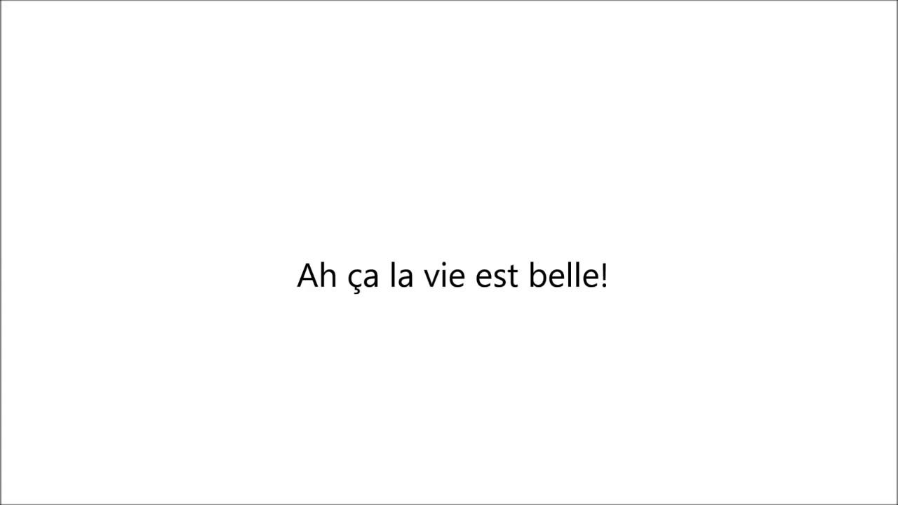 Nassi - La vie est belle (paroles)
