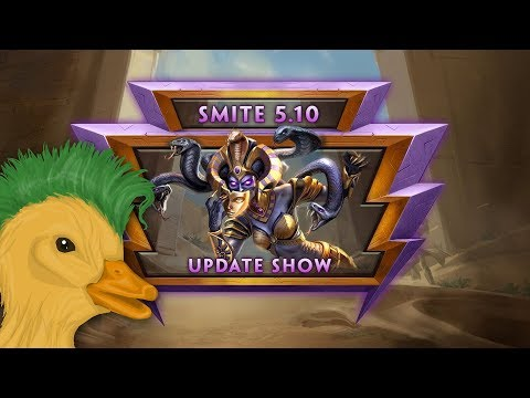 SMITE - 5.10 Update Discussion (with Punk Duck)
