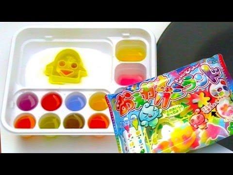how to make gummy candy at home kracie popin 39 cookin 39 diy food making kit youtube. Black Bedroom Furniture Sets. Home Design Ideas
