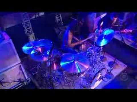 The Mars Volta - Wax Simulacra on Letterman 2008