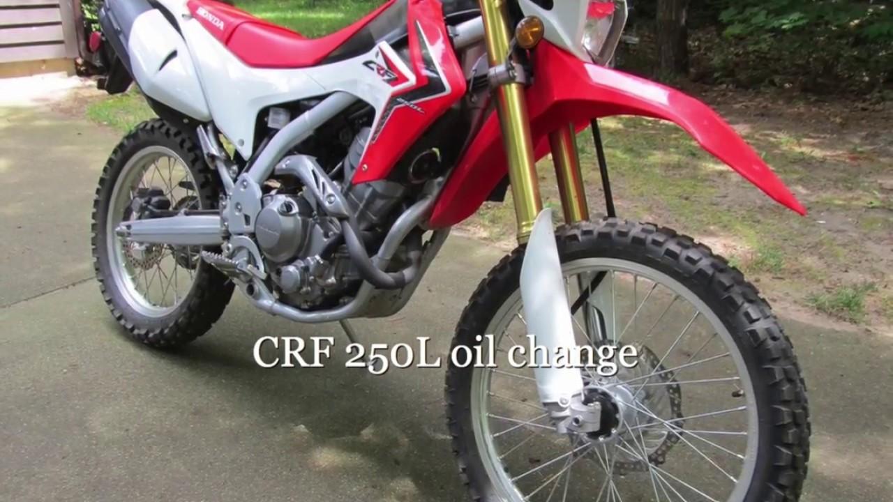 Honda 250 oil change