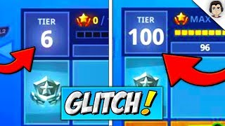 NEW *FREE* TIERS GLITCH! Fortnite How to Get Tier 100 QUICKLY SEASON 6 Fortnitemares Battle stars