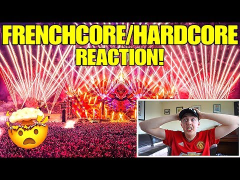 REACTING TO FRENCHCORE/HARDCORE MUSIC FOR THE FIRST TIME!