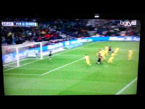 Messi's 2nd goal vs getafe