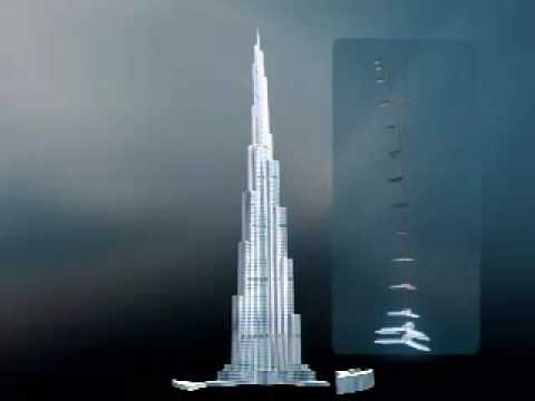 Burj Khalifa - ( Burj Dubai ) - World's Tallest Building