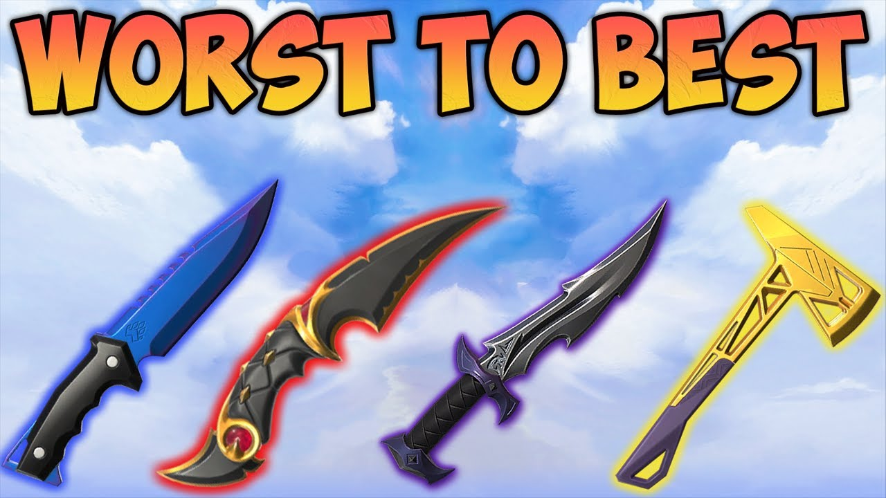 Download Ranking Every VALORANT KNIFE From Worst to Best (Melee)