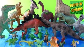 Dinosaur toys - Safari Ltd. Toobs, Walmart dinosaurs for children